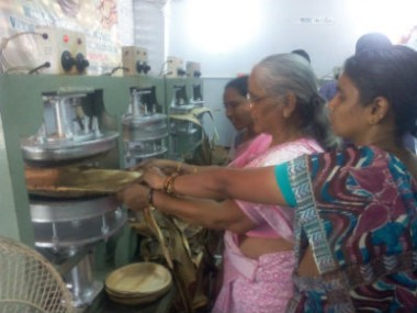 One-day Training camp on Areca Leaf Plate Production – Chennai – 21.01.2015